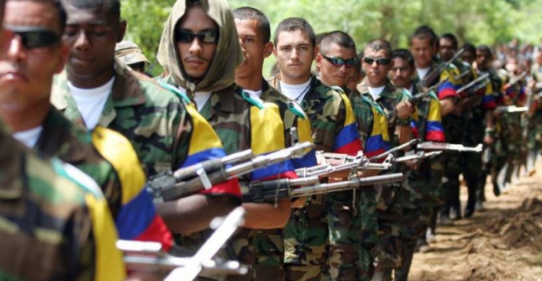 Entrega de armas - Colombia