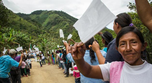 Paz en Colombia - Foto toma de revista semana
