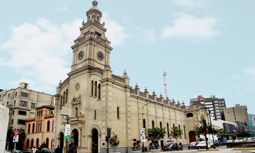 Iglesia de la Virgen del Pilar. Foto archivo particular.