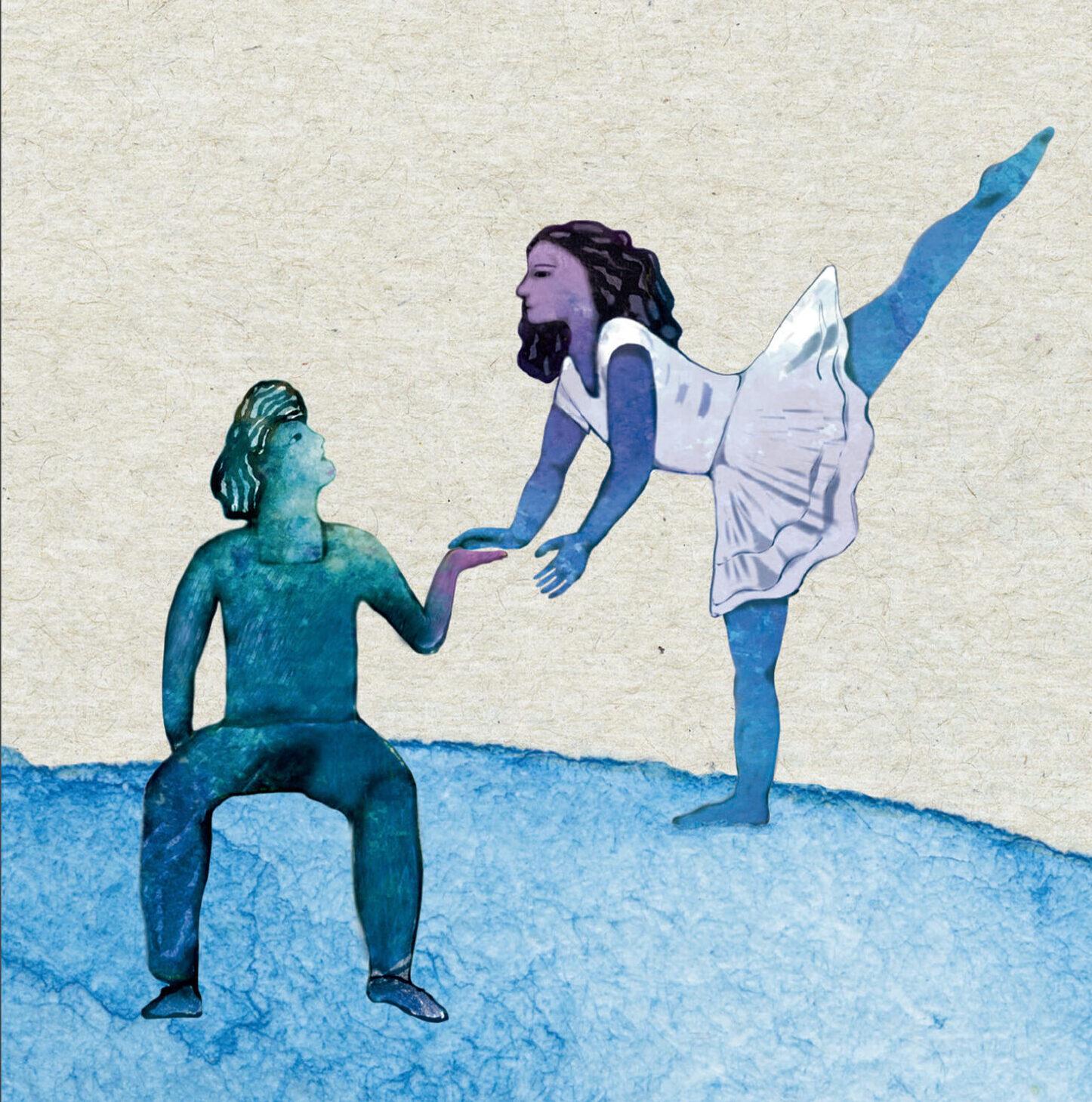 Cubierta libro La bailarina sonambula